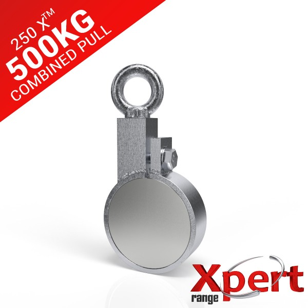 250 X™ Recovery Clamp Neodymium 500KG Fishing Magnet | Online Magnets
