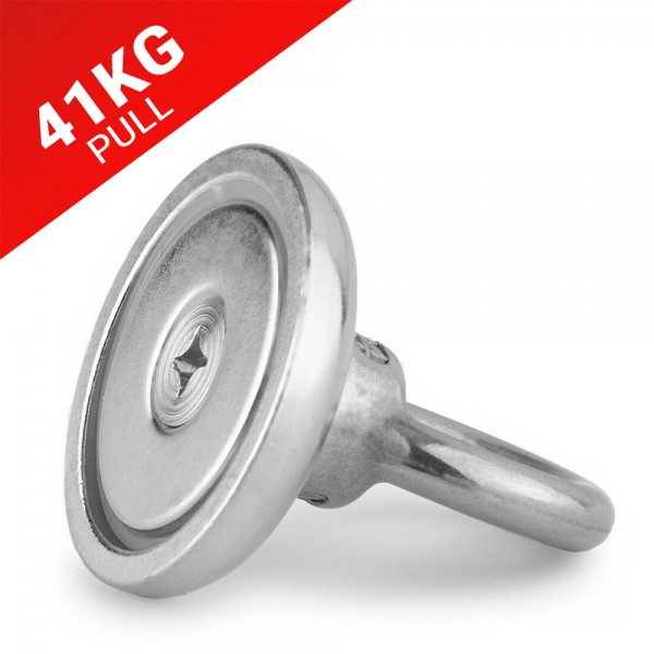 41kg Pull Recovery Fishing Magnet | Online Magnets