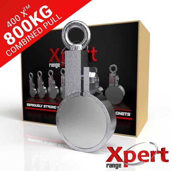 400 X™ Recovery Clamp Neodymium 800KG / 1764LB Fishing Magnet