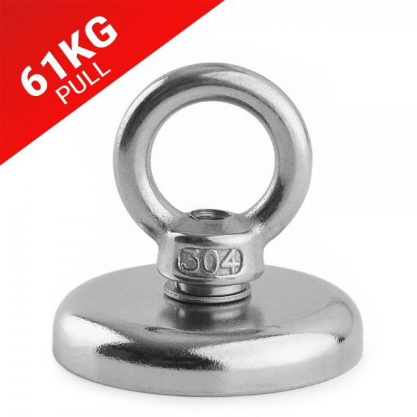 61kg Pull Recovery Fishing Magnet