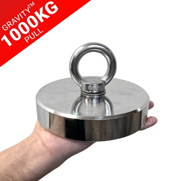Gravity™ 1000KG (ONE TON) Pull Fishing Magnet | Online Magnets