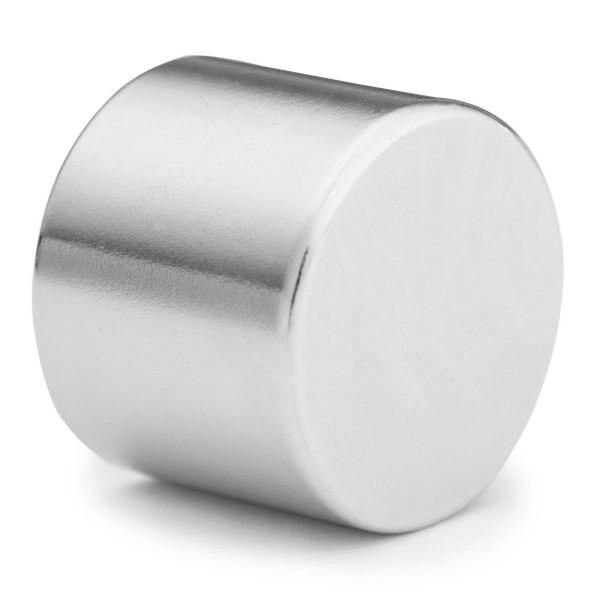 25mm Dia X 20mm Neodymium Disc Magnet N35