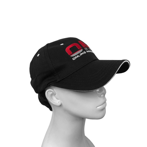 Online Magnets Branded Curved Peak Baseball Cap