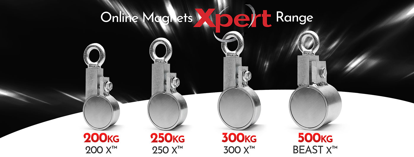 Fishing Magnets Xpert Range | Online Magnets
